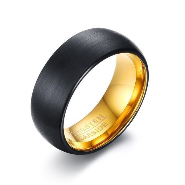 The Black Tungsten Ring