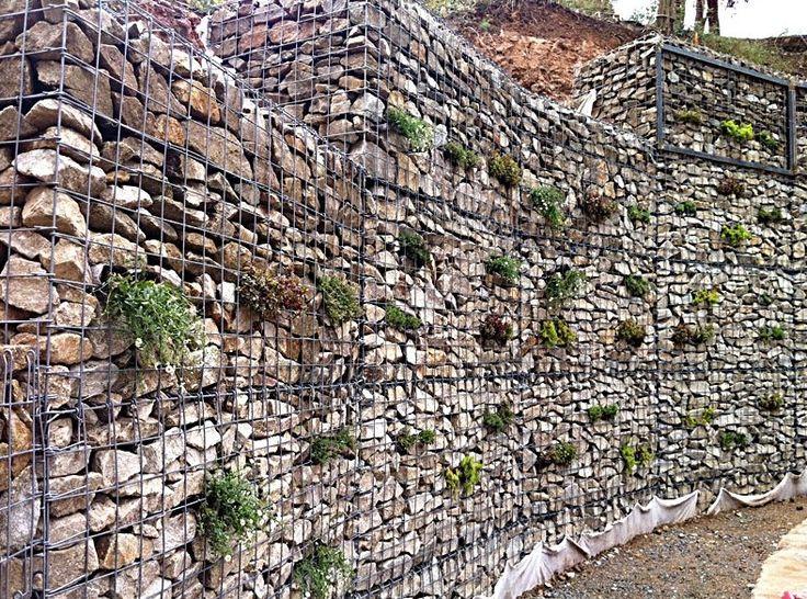 Best 25 Gabion retaining wall ideas on Pinterest Gabion