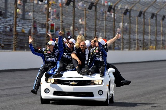 PHOTOS (July 29, 2012): Jimmie Johnson wins Indy. More: http://www.hendrickmotorsports.com/news/photos/2012/07/29/Jimmie-Johnson-wins-Indy#.: 48 Jj, Indie 7 29 2012, 48 J J, Jj 48, Jimmy Johnson, Photo July, Lap Indie, Johnson 48, 48 Crewon