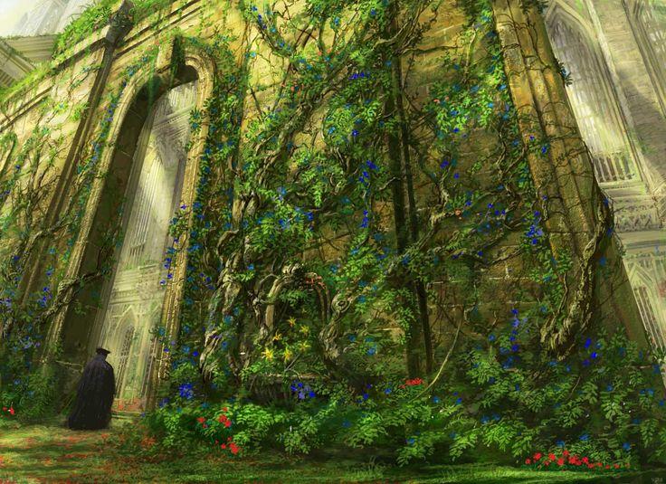 Abundant Growth. Art by Vincent Proce Magic The
