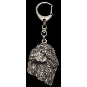 Keyring covered with thin layer of silver (2)