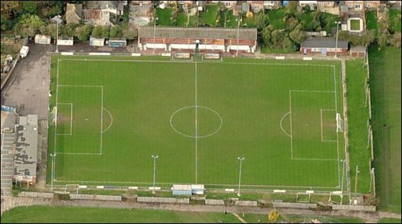 Gosport Borough FC--One of kevins first soccer field..