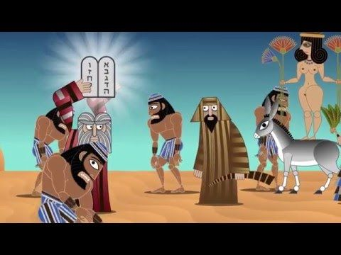 Exodus 32 - THE LAW by artist Nina Paley - YouTube