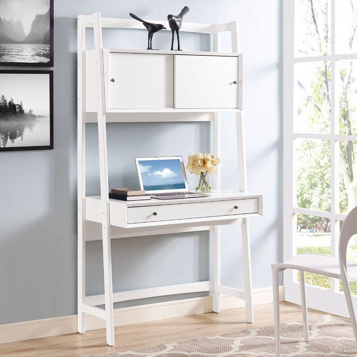 Easmor ladder desk furniture ladder desk wall desk