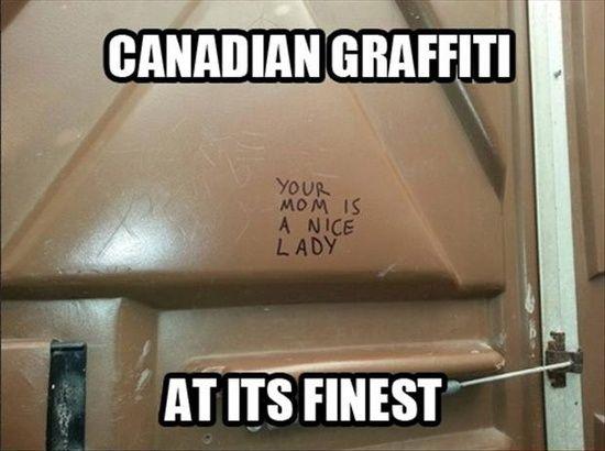 Yo Mama...Canadian Style.