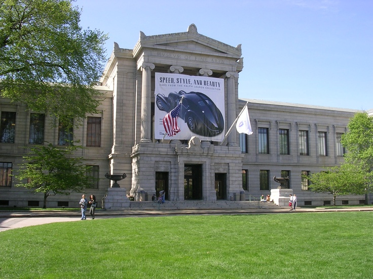 Boston Museum of Fine Arts. Enjoyed my day here. Boston