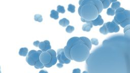 Abstract 3d Bubble Shapes Stock Video Footage