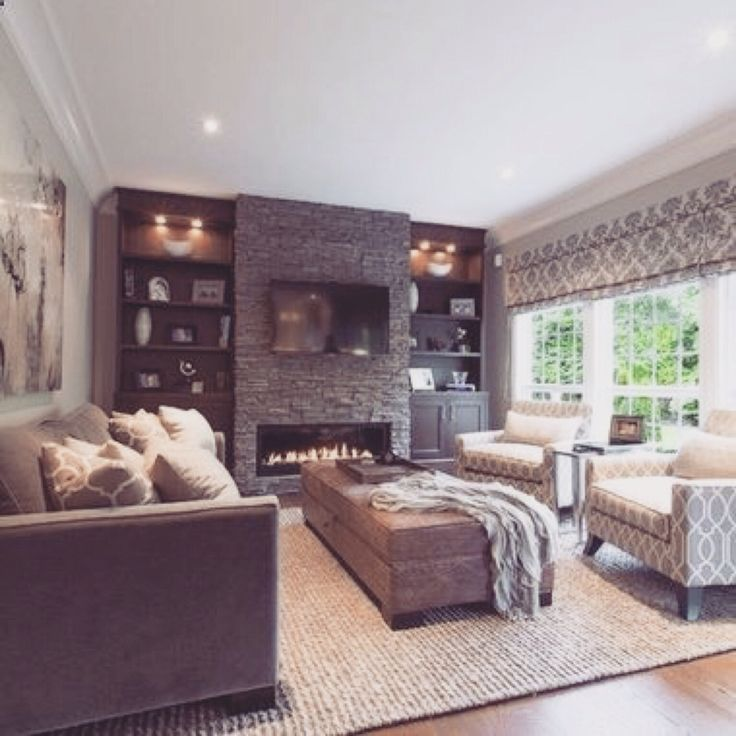 Family Room With Tv: 17 Best Ideas About Fireplace Wall On Pinterest