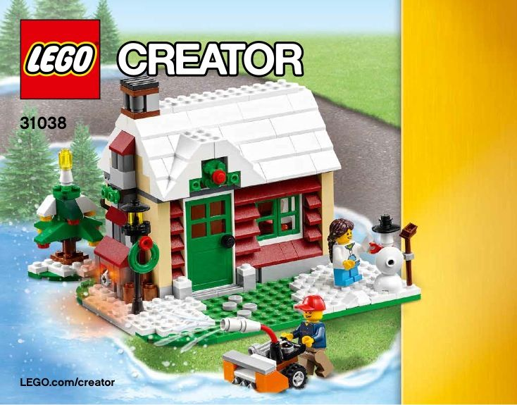 26 best lego images on pinterest child room legos and lego building view lego instructions for changing seasons set number 31038 to help you build these lego sets malvernweather Gallery