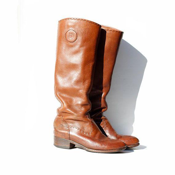 taille  95 Wassail marron en cuir d'équitation par TanakaVintage, $189.00