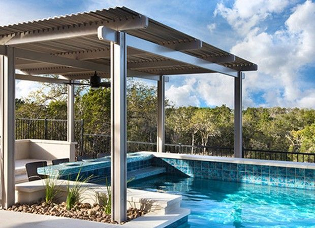1000 images about pool pergola gazebo ideas designs for Pool design with gazebo