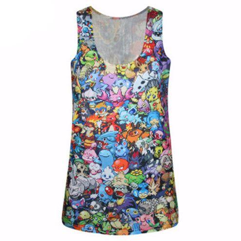 Pokemon Punk Tank Top