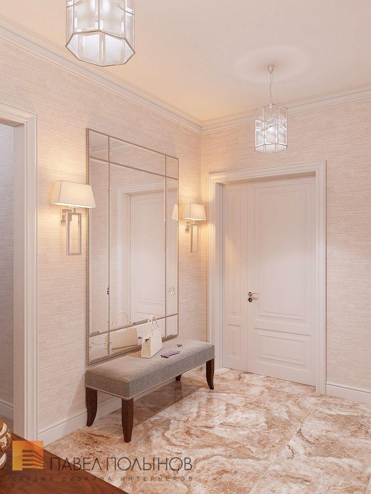 Фото интерьер холла из проекта «Дизайн квартиры 151 кв.м. в клубном доме «DEL' ARTE», современная классика»