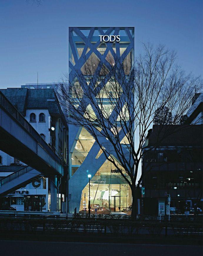Магазин TOD's в Токио (2004)