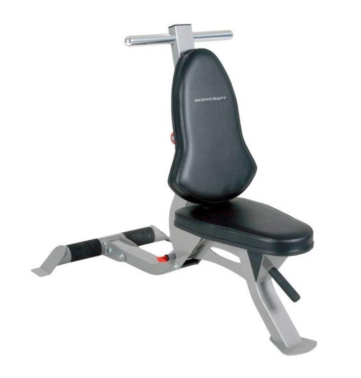 BodyCraft Flat/Incline Utility Bench w/wheels F603