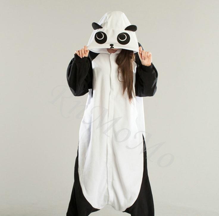 KIGURUMI Animal Pajamas Pyjamas Costume Onesie Adult / Kid SLOTH-panda.
