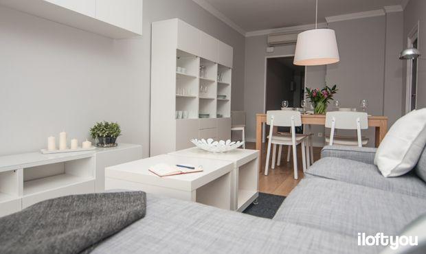 #proyectolescorts #iloftyou #interiordesign #ikea #barcelona #lowcost #alquilertemporal #livingroom #diningroom #kivik #samtid #bjursta #sigurd #besta #jara