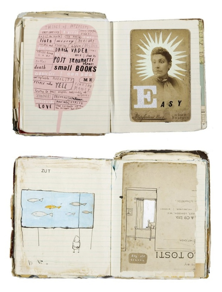 Oliver Jeffers. Love these - so charming