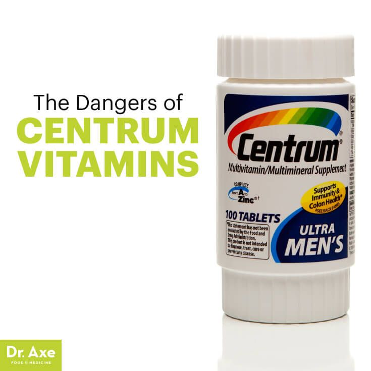 Centrum vitamins - Dr. Axe http://www.draxe.com #health #holistic #natural