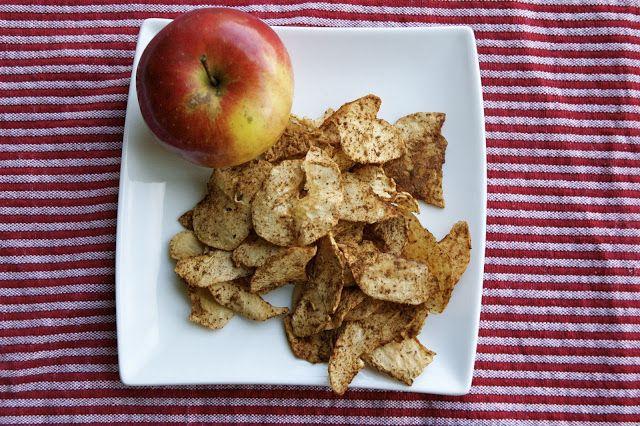 crustycorner: Jablečné chipsy