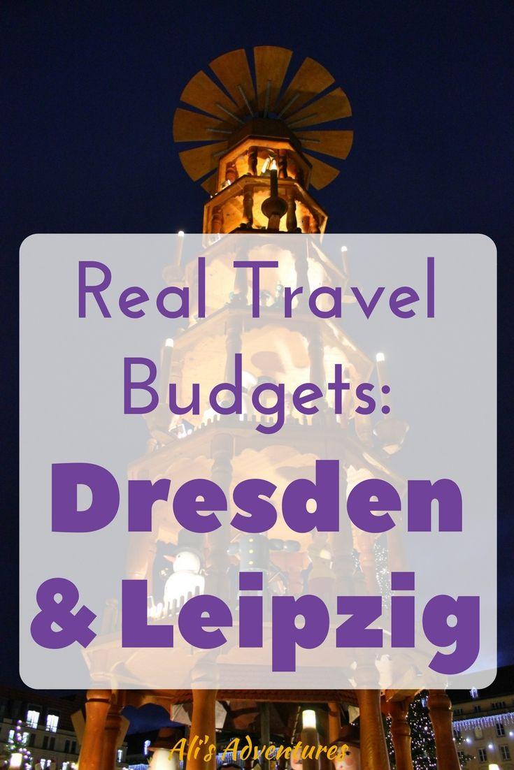 Dresden and Leipzig make good day trips from Berlin but they're each worth a trip on their own. Here's how much we spent traveling in Dresden and Leipzig.