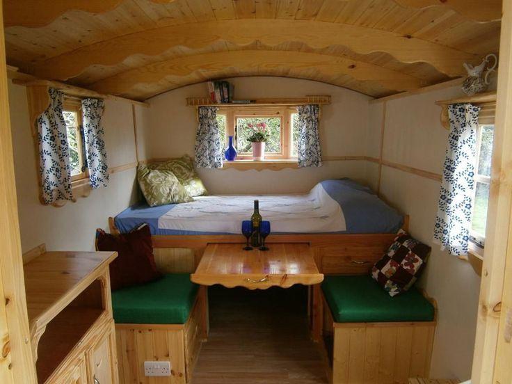 Bristol Vardo - A handmade 72 square feet gypsy vardo in Keynsham, Bristol, England.