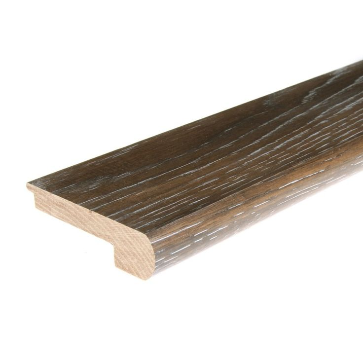 Best Flexco Solid Wood Stair Nose 2 75 In X 78 In Iron Grove 640 x 480