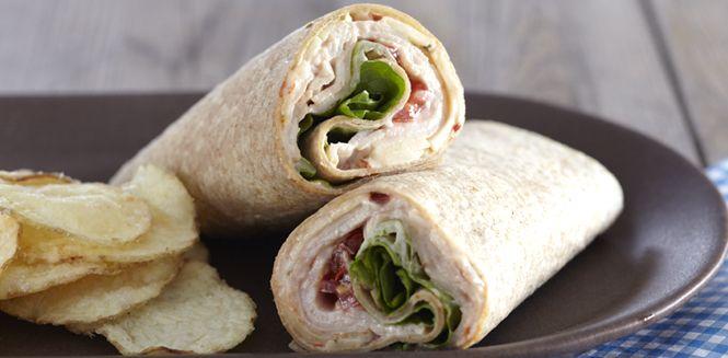 The Santa Fe Healthy Tortilla Wrap ~ yum!