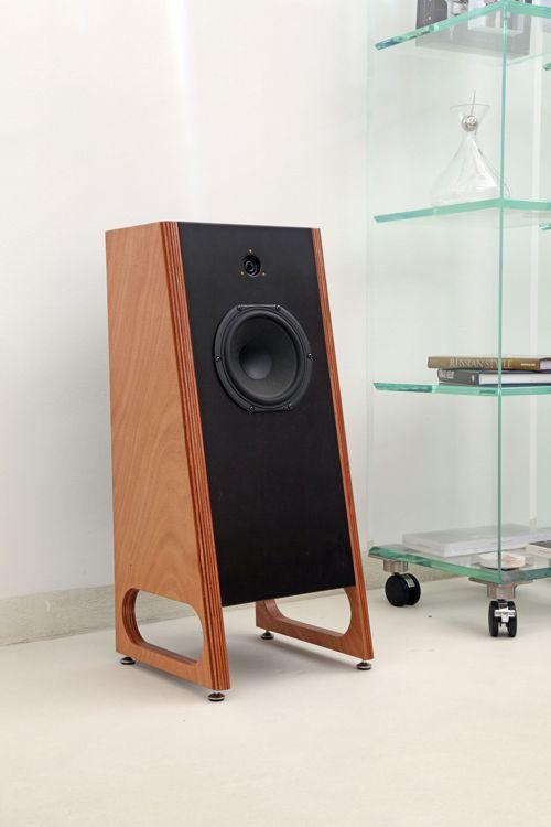 MK Audio Studio MK – 2, from Italy. #audio #design #music High end audio audiophile speakers