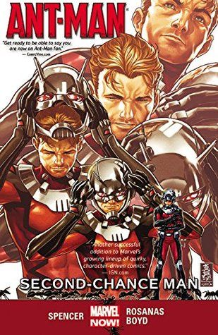 Ant-Man, Vol. 1: Second-Chance Man (Ant-Man Vol. II #1-5) by Nick Spencer, Ramon Rosanos.