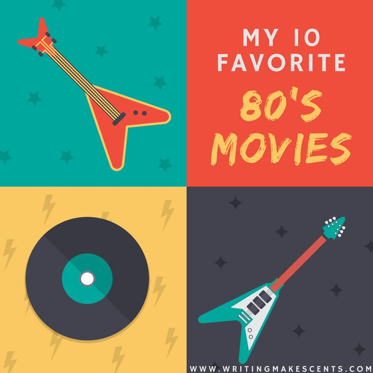 Love your 80s movies?  Here are my personal top 10 favorites - do they match yours?
