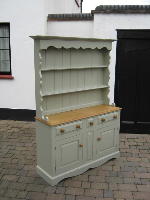 This Old Pine Dresser Was Transformed With A Coat Of