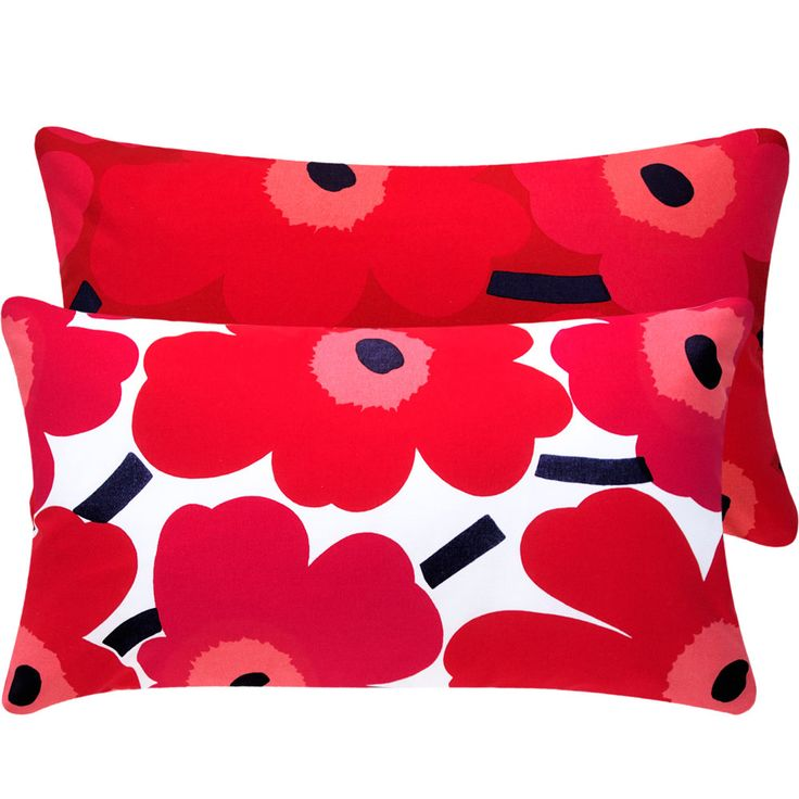 Marimekko Magenta and Red Pillow #Etsy #JonathanAdler #GetChicSweepstakes WOULD GO FAB WITH MY NEW POPPY BED LINEN!