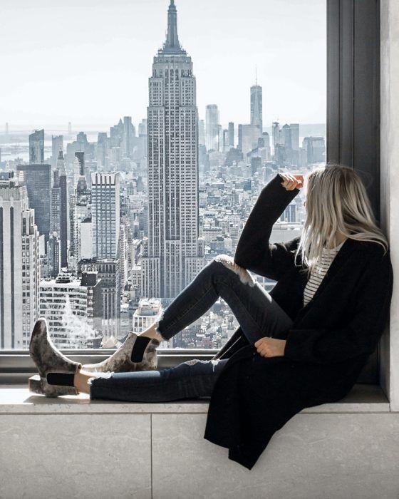 Leopard Faux Fur Coat in Times Square – #coat #Fau…
