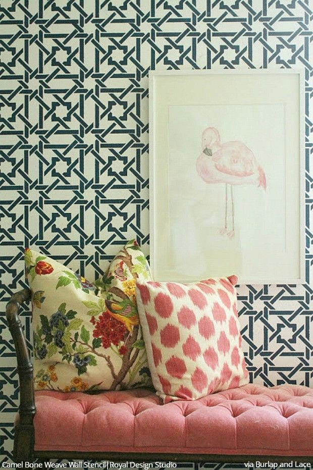 Wallpaper Design For Wall 415 best stenciled & painted walls images on pinterest | wall