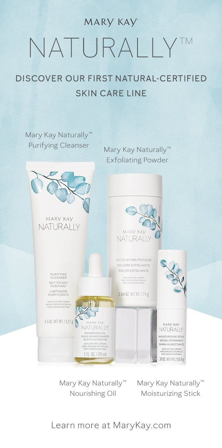 Mary Kay's first naturalcertified skin care line! in 2020