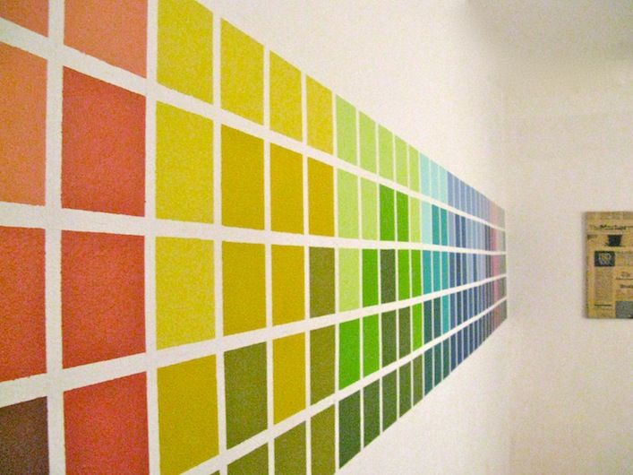 57 best decor painting ideas for halls and offices images for Paint color spectrum