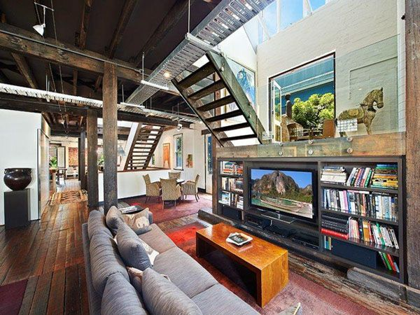 Surry Hills warehouse converted to incredible dwelling | Warehouse ...