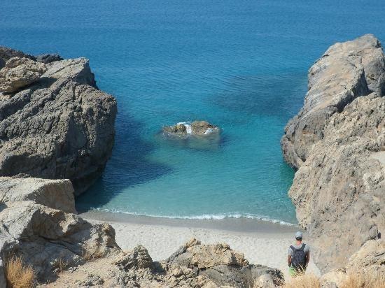 micro ammoudi beach - Rethymnon, Crete