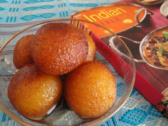 Postre hindu delicioso! Gulab jamuns