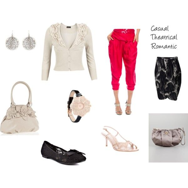"""""""Casual Theatrical Romantic"""" by cultivatingstyle on Polyvore"""