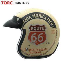 US $92.86 Hot sale TORC T50 Route 66 Motorcycle helmet jet Vintage helmet Open face retro 3/4 half helmet casco moto capacete motociclismo. Aliexpress product