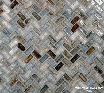 46 best handmade glass tile studio v189 images on for Elegant horizontal glass tile backsplash