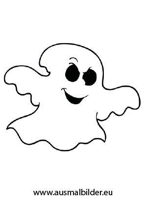 Ausmalbild Komisches Gespenst | Kinder Ideen | Halloween