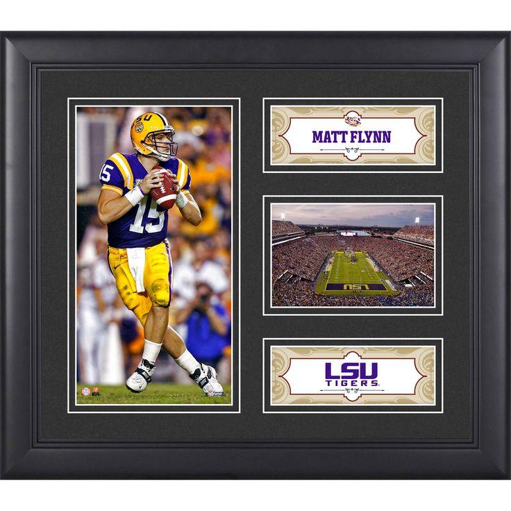 "Matt Flynn LSU Tigers Fanatics Authentic Framed 15"" x 17"" Collage - $39.99"