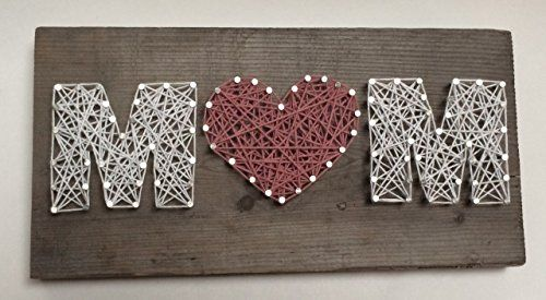 $60.00    Show Mom you love her, with this sweet rustic art work. Made on up cycled wood,making each piece special and unique. All pieces c...