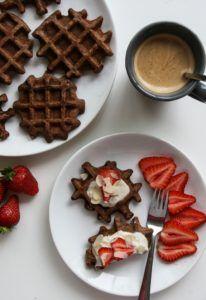 Glutenfree waffle gluténmentes gofri recept