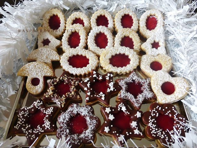 Raspberrybrunette: Linecké pečivo