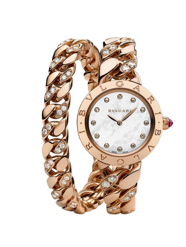 Bvlgari Bvlgari Pink Gold Catene Watch now at London Jewelers!