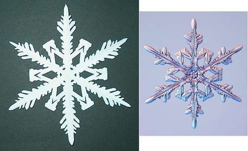29 best holiday decor and fun images on pinterest for How to make a real paper snowflake